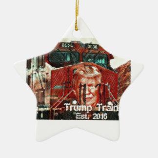 Ornamento De Cerâmica Trem… Est do trunfo. 2016