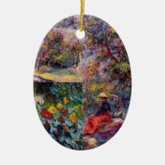 Ornamento De Cerâmica Três obra-primas surpreendentes da arte de Renoir