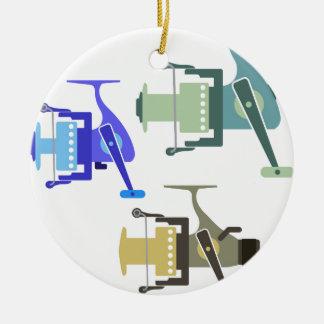Ornamento De Cerâmica Três tipos de ilustração de giro do vetor dos
