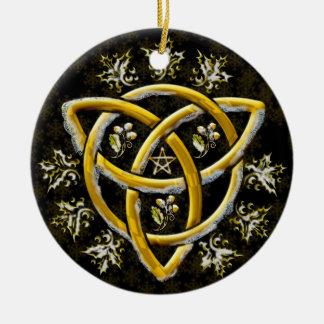 Ornamento De Cerâmica Tri-Quatra #16