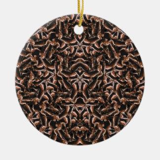 Ornamento De Cerâmica Tribal moderno intrincado escuro