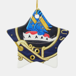 Ornamento De Cerâmica Tribo de crista de março