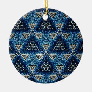 Ornamento De Cerâmica Trikha