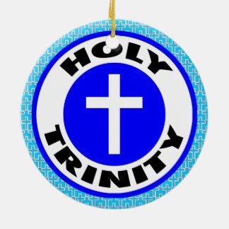 Ornamento De Cerâmica Trindade santamente
