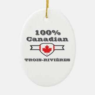 Ornamento De Cerâmica Trois-Rivières 100%