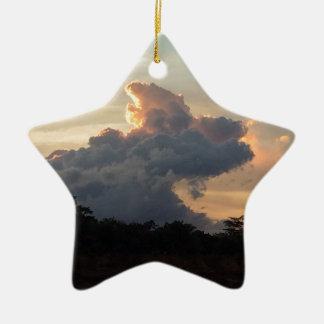 Ornamento De Cerâmica Tubarão da nuvem