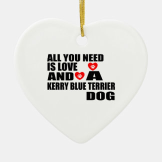 Ornamento De Cerâmica Tudo você precisa o design dos cães de TERRIER de