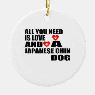 Ornamento De Cerâmica Tudo você precisa o design JAPONÊS dos cães do