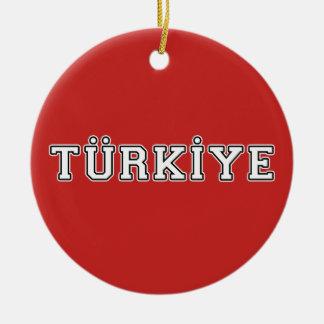 Ornamento De Cerâmica Türkiye