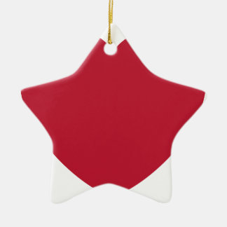Ornamento De Cerâmica Twitter Love Heart Emoji