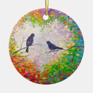Ornamento De Cerâmica Um acordo do primavera