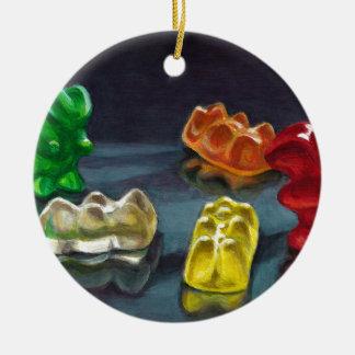 Ornamento De Cerâmica Um bloco dos doces