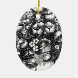 Ornamento De Cerâmica Um cheio of.tif do presente