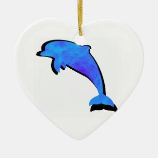 Ornamento De Cerâmica Um conto dos golfinhos