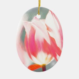 Ornamento De Cerâmica Um esboço do duo do Tulipa