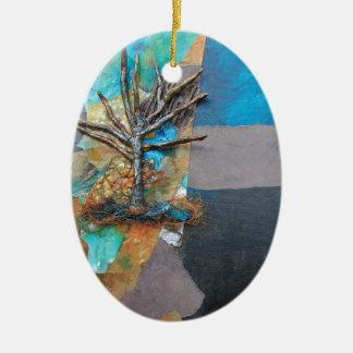 Ornamento De Cerâmica Um monte da árvore