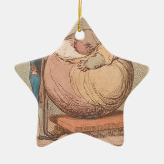 Ornamento De Cerâmica Uma esfera, projetando-se contra um plano