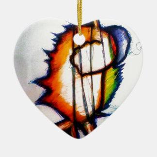 Ornamento De Cerâmica Uma música que você pode sentir e ver
