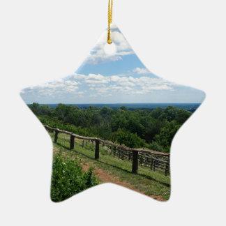 Ornamento De Cerâmica Uma vista de Monticello