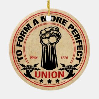 Ornamento De Cerâmica União mais perfeita 1016