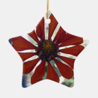 Ornamento De Cerâmica Única flor
