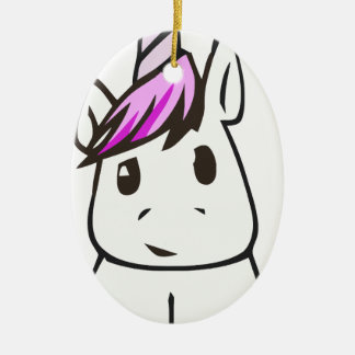 Ornamento De Cerâmica unicorn10