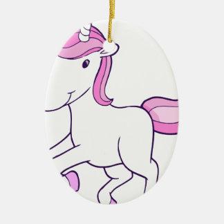 Ornamento De Cerâmica unicorn11