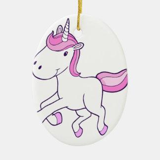 Ornamento De Cerâmica unicorn14