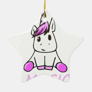 Ornamento De Cerâmica unicorn16