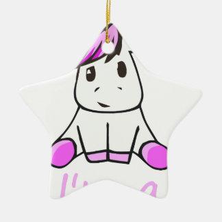 Ornamento De Cerâmica unicorn19