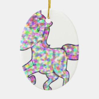 Ornamento De Cerâmica unicorn21