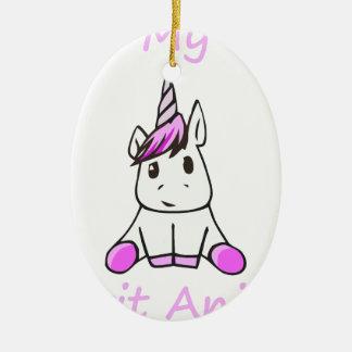 Ornamento De Cerâmica unicorn9