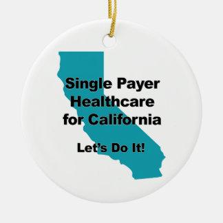 Ornamento De Cerâmica Únicos cuidados médicos do pagador para Califórnia