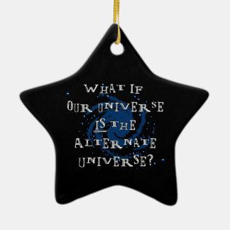 Ornamento De Cerâmica Universo alternativo