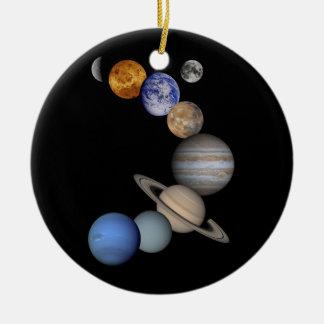 Ornamento De Cerâmica universo dos planetas do sistema solar