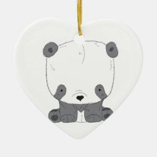Ornamento De Cerâmica Urso de PANDA bonito