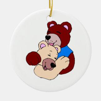 Ornamento De Cerâmica Ursos peluches