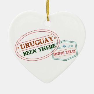 Ornamento De Cerâmica Uruguai feito lá isso