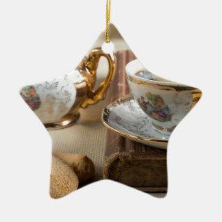Ornamento De Cerâmica Utensílios de mesa da porcelana do alemão do