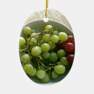 Ornamento De Cerâmica uvas