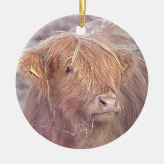 Ornamento De Cerâmica Vaca das montanhas, gado das montanhas