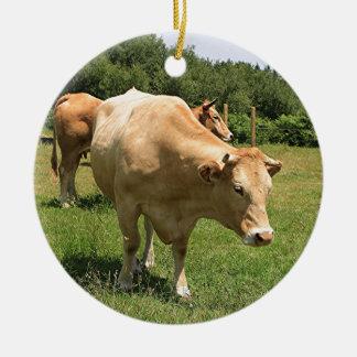 Ornamento De Cerâmica Vacas no campo, EL Camino, espanha 2