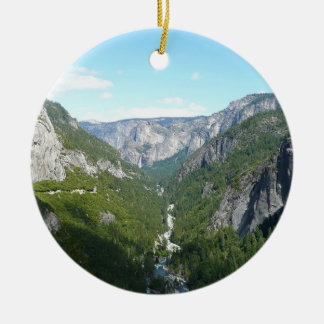 Ornamento De Cerâmica Vale de Yosemite no parque nacional de Yosemite