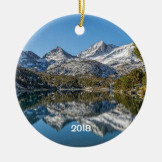 Ornamento De Cerâmica Vale pequeno do lago longo, lagos, Califórnia