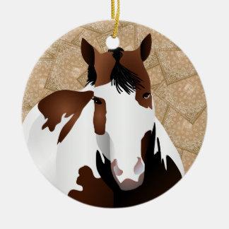 Ornamento De Cerâmica Vaqueiro ACIMA!