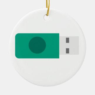 Ornamento De Cerâmica Vara de USB