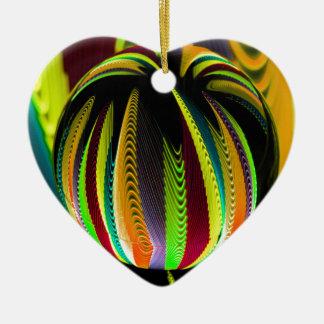 Ornamento De Cerâmica Variação ColoursI na bola