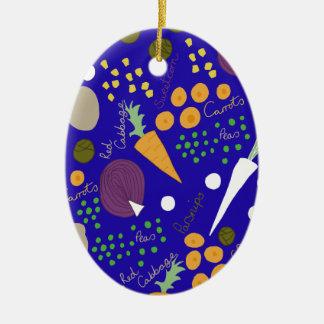 Ornamento De Cerâmica veg do inverno
