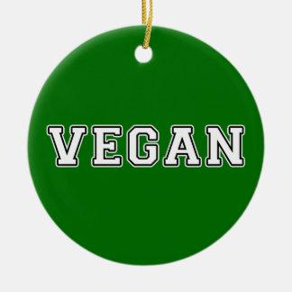 Ornamento De Cerâmica Vegan
