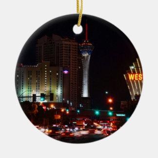 Ornamento De Cerâmica Vegas Paradise Road